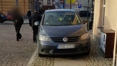 Sztum: Ten chodnik jest zbyt mały... Mistrz parkowania na ul. Galla Anonima – 07.01.2018