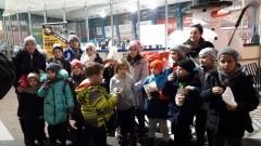 Szkoła Stegna: Dzieci spędzały aktywnie czas na lodowisku. - 19.01.2018