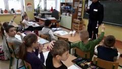 Stegna: Dzieci spotkały się w szkole z policjantem. - 19.01.2018