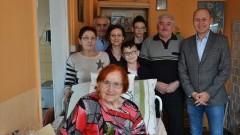 Nowy Dwór Gd.: 92 urodziny pani Leokadii Zubkowicz. - 02.02.2018