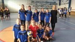 II miejsce drużyny z ZS w Stegnie na Mistrzostwach Powiatu w Mini -Piłkę Siatkową w kategorii dziewcząt w Nowym Dworze Gdańskim - 14.02.2018