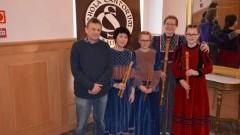 """Brązowa Harfa dla zespołu muzyki """"Capella Antiqua da Camera"""" ze Stegny! - 26.02.2018"""