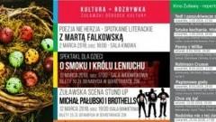 Nowy Dwór Gdański : Marcowe atrakcje Żuławskiego Ośrodka Kultury oraz Kina Żuławy. Zobacz kalendarium wydarzeń - 06.03.2018