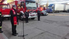 Poświęcenie wozu strażackiego oraz walne zgromadzenie członków OSP Nowy Dwór Gdański