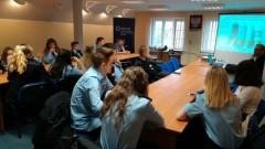 Nowy Dwór Gdański : Spotkania uczniów klas mundurowych z nowodworską policją