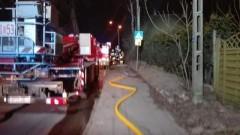 Pożar w budynku mieszkalnym w miejscowości Kępki.