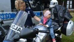 Jednośladem bezpiecznie do celu - policyjna akcja w powiecie nowodworskim