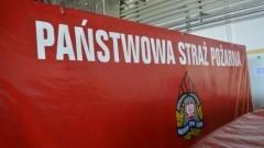 Pożar przyczepy campingowej w Krynicy Morskiej - raport nowodworskich służb mundurowych