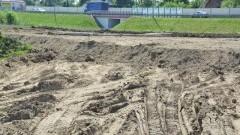 Gmina Nowy Dwór Gdański : Rozpoczęto budowę mini boiska piłkarskiego w Jazowej
