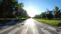"""Kolejne działania policji na terenie powiatu nowodworskiego """"Niechronieni uczestnicy ruchu drogowego""""."""