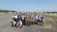 Nowodworscy harcerze uczestniczyli w zlocie skautów InterCamp w Belgii
