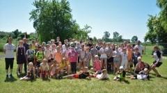 Ponad 100 uczniów Zespołu Szkolno - Przedszkonego w Marzęcinie wzięło udział w Biegu Kwietnym.
