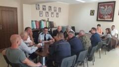 Gmina Stegna: Posiedzenie Gminnego Zespołu Zarządzania Kryzysowego
