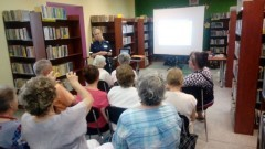 Sztutowo : Bezpieczeństwo tematem spotkania nowodworskiej policji z seniorami