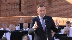 """""""Możecie być dumni z Malborka"""" - wizyta Prezydenta Andrzeja Dudy."""
