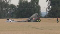 Materiał wideo z miejsca katastrofy. MiG- 29 z malborskiej bazy rozbił się pod Pasłękiem. Pilot nie przeżył wypadku.
