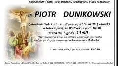 Zmarł Piotr Dunikowski. Żył 83 lata.