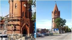 Rozpoczęły się roboty budowlane w zabytkowej wieży ciśnień na placu Słowiańskim w Malborku.