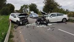 Potrącenie dziecka w Kątach Rybackich, wypadki drogowe, ranni przetransportowani do szpitali - raport nowodworskich służb mundurowych