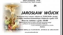 Zmarł Jarosław Wójcik. Żył 59 lat.
