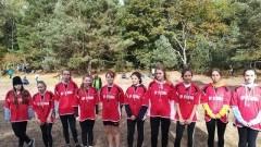 Sukcesy uczniów ZS Stegna na Mistrzostwach Powiatu w Sztafetowych Biegach Przełajowych