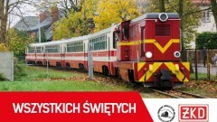 """Żuławska Kolej Dojazdowa: Zobacz rozkład jazdy w okresie """"Wszystkich Świętych"""""""