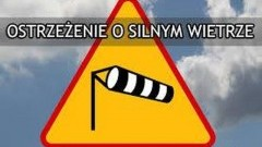 Uwaga na silny wiatr! Przeczytaj komunikat