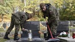 Żołnierze Wojsk Obrony Terytorialnej pamiętają o polskich bohaterach.