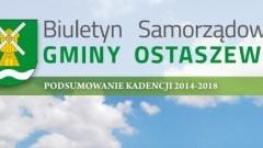 Osiągnięcia Gminy Ostaszewo w latach 2014-2018
