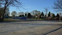 Marzęcino: Budowa parkingu przed cmentarzem zakończona.