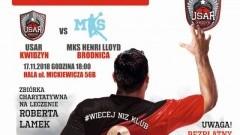 USAR Kwidzyn vs. MKS HENRY LLOYD. Mecz charytatywny dla mieszkańca Sztumu