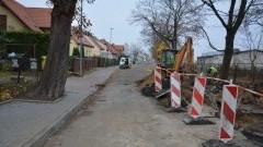 Nowy Dwór Gdański: Nowa kanalizacja deszczowa wzdłuż ulicy Kolejowej - rozpoczęcie budowy