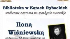Spotkanie autorskie z Iloną Wiśniewską w Kątach Rybackich.
