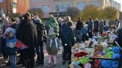 Razem dla Hani. Mieszkańcy wsparli małą Hanię na festynie rodzinnym w Malborku.
