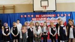 Obchody 100. rocznicy odzyskania niepodległości przez Polskę w ZSP Drewnica