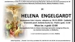 Zmarła Helena Engelgardt. Żyła 89 lat.