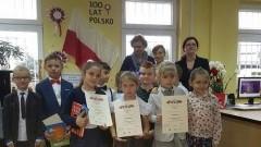 """Jantar: """"100 utworów na 100-lecie Polski"""". Gminny Konkurs Recytatorski."""