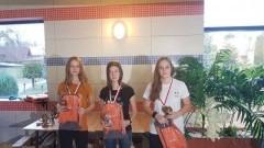 Reprezentacja nowodworskiej Szkoły Podstawowej nr 2 na III Mistrzostwach Gminy Stegna w pływaniu