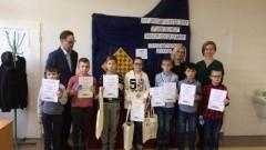 Brązowy medal ucznia Zespołu Szkół w Stegnie na III Powiatowym Turnieju Warcabowym