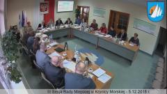 III Sesja Rady Miejskiej w Krynicy Morskiej. Zobacz na żywo