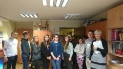 Wizyta uczniów w Urzędzie Gminy Sztutowo