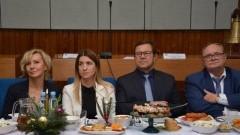Spotkanie wigilijne rolników z powiatu nowodworskiego.