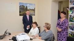 Gmina Nowy Dwór Gdański: Pierwsze zajęcia komputerowe dla osób 50+