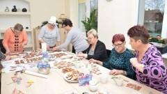 Świąteczne przygotowania w Żuławskim Klubie Seniora w Nowym Dworze Gdańskim