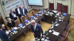 III sesja Rady Powiatu Nowodworskiego VI kadencji. Zobacz na żywo