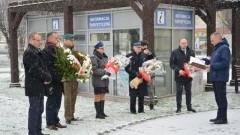 Nowy Dwór Gdański: Uroczystości upamiętniające śmierć polskich żołnierzy.