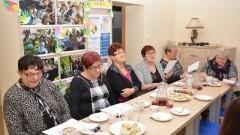 Wspólne kolędowanie nowodworskich seniorów z przedszkolakami.