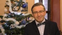 Dyrektor Muzeum Zamkowego, Janusz Trupinda składa życzenia świąteczno – noworoczne.