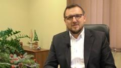 Robert Zieliński, Wójt Gminy Sztutowo składa życzenia świąteczno – noworoczne