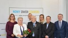 Nowy Dwór Gdański: Państwo Bożena i Stanisław Nycnerscy otrzymali medale za długoletnie pożycie małżeńskie.